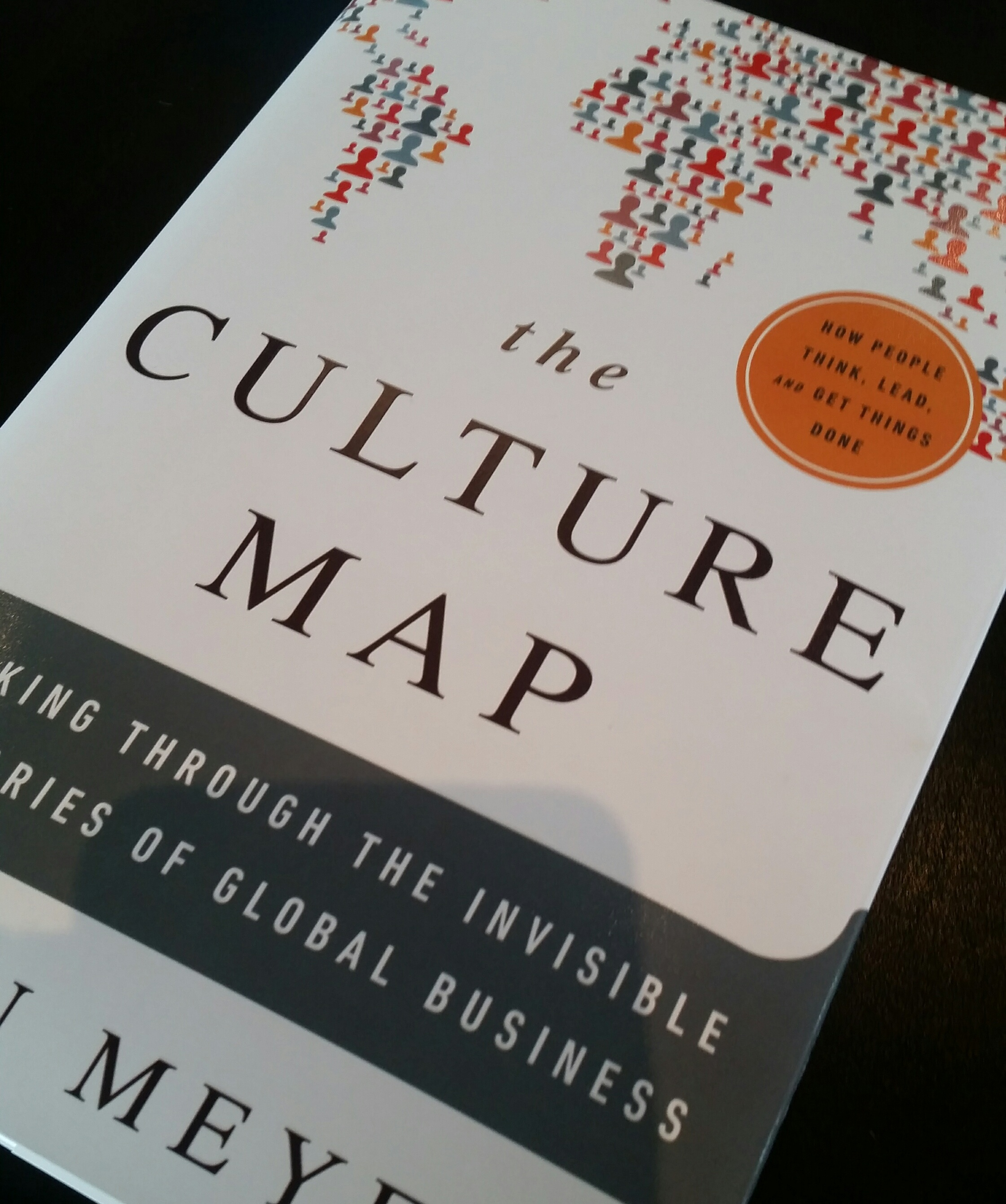 the Culture Map is a book about business culture in different countries which served as the basis for our discussions